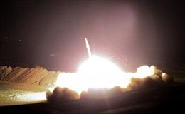 Xuất hiện video đầu tiên về vụ Iran phóng tên lửa vào căn cứ Mỹ