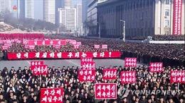 Hàng trăm nghìn người Triều Tiên tuần hành nêu cao tinh thần đoàn kết, tự cường