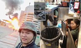 Những hình ảnh đầu tiên về vụ xả súng kinh hoàng tại Thái Lan