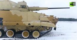 Uy lực của thiết giáp AU-220M Nga