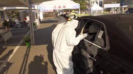Hàn Quốc xây trạm xét nghiệm virus Corona kiểu 'lái xe tạt qua'