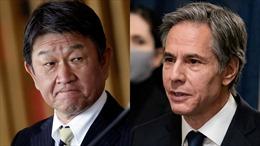 Ngoại trưởng Nhật Bản, Mỹ điện đàm, nhất trí tăng cường quan hệ đồng minh