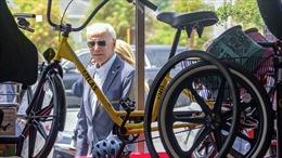 Chiếc xe đạp yêu thích của Tân Tổng thống Biden gây lo ngại an ninh Nhà Trắng