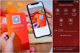 Singapore khuyến khích dùng lì xì điện tử, hạn chế đổi tiền mới