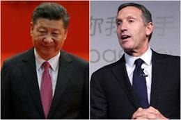 Chủ tịch Trung Quốc viết thư gửi 'ông trùm' Starbucks