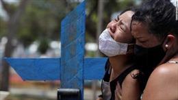 Vì đâu Brazil trở thành sự kiện siêu lây nhiễm của Nam Mỹ?