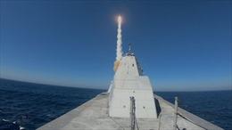 Mỹ trang bị tên lửa siêu vượt âm cho tàu khu trục Zumwalt