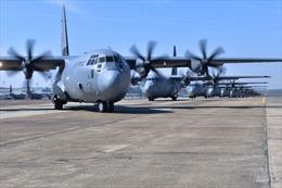 Nhiều máy bay quân sự Mỹ đến Ukraine giữa lúc căng thẳng ở biên giới với Nga