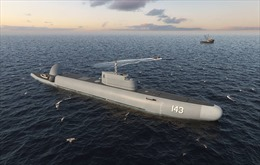 Nga chế tạo 'tàu lặn' tuần tra đầu tiên trên thế giới