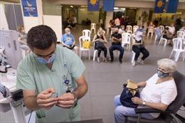 Israel chuẩn bị vaccine COVID-19 dự phòng cho kế hoạch tiêm mũi 4