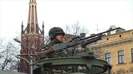 Diễn tập không báo trước, quân đội Latvia phải xin lỗi vì làm người dân hoảng loạn