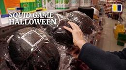 Trang phục phim Squid Game gây 'bão' mùa Halloween