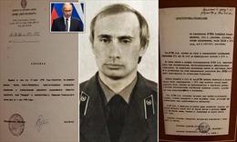 Hé lộ hồ sơ thời làm điệp viên KGB của Tổng thống Putin