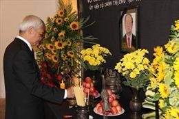 Hoạt động tưởng niệm Chủ tịch nước Trần Đại Quang tại Tây Ban Nha và Venezuela