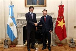 Việt Nam và Argentina tăng cường hợp tác kinh tế thương mại
