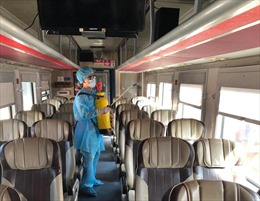Đường sắt tăng cường tàu chạy từ Đà Nẵng đi Hà Nội/TP Hồ Chí Minh từ chiều ngày 27/7