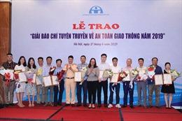 Cuộc thi 'Báo chí tuyên truyền về an toàn giao thông năm 2019' có 2 giải Nhất