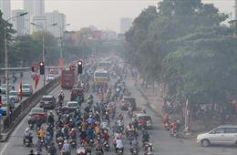 Chất lượng không khí ở Hà Nội ở mức xấu, tránh hoạt động ngoài trời