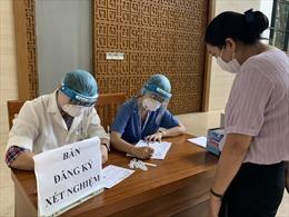 Xét nghiệm SARS-CoV-2 cho phóng viên đưa tin kỳ họp thứ nhất, Quốc hội khoá XV