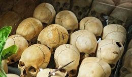 Phát hiện hơn 40 hộp sọ trong hang ổ băng đảng ma túy Mexico