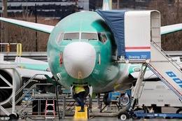 Boeing tạm dừng sản xuất máy bay 737 MAX