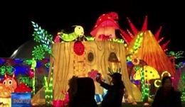 Lễ hội hoa đăng lớn nhất Bắc Mỹ