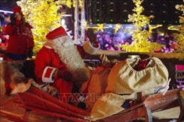 Ông già Noel khởi hành từ Bắc Cực