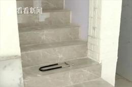 Người đàn ông nhiều năm bí mật đào hầm ngay dưới tầng trệt căn hộ