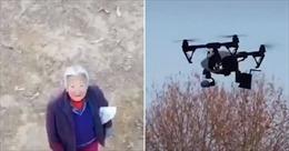 Triển khai flycam nhắc nhở người dân đeo khẩu trang