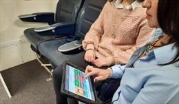 Thiết bị theo dõi y tế thông minh trên máy bay
