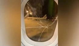 Cô gái thất tình đấm nứt cửa sổ, máy bay phải hạ cánh khẩn cấp