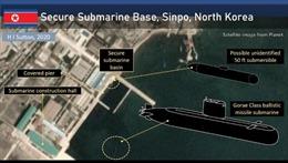 Triều Tiên có thể đang chế tạo tàu ngầm mới