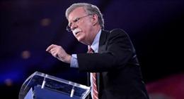 Ông John Bolton phản bác thông tin định bỏ phiếu cho ông Biden