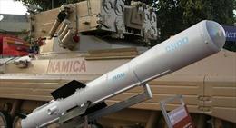 Ấn Độ thử thành công tên lửa chống tăng thế hệ thứ ba phóng từ trực thăng