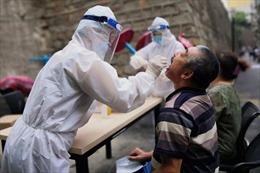 Số ca nhiễm Covid-19 tại Tân Cương, Trung Quốc tăng mạnh