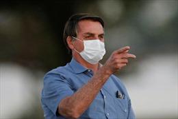 Tổng thống Brazil bị mốc phổi sau khi mắc COVID-19