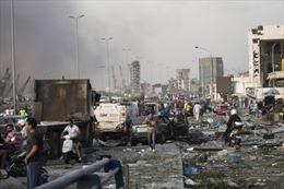 Khung cảnh hỗn loạn như ngày tận thế sau vụ nổ kinh hoàng ở Liban