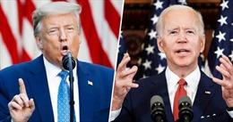 Bầu cử Mỹ 2020: Ứng viên J. Biden được khuyến cáo bỏ qua tranh luận trực tiếp với ông Trump