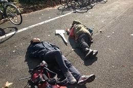 Kỳ lạ sở thích nằm ngủ giữa đường của dân Nhật Bản ở Okinawa