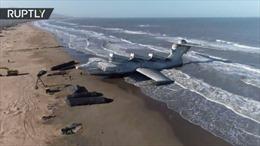Xem 'quái vật biển' thời Chiến tranh lạnh của Liên Xô trên bờ biển Caspi