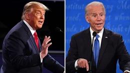 Cuộc tranh luận cuối giữa hai ứng cử viên Tổng thống Mỹ: Ôn hòa hơn, rõ ràng hơn