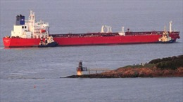 Sự cố tàu chở dầu ngoài khơi nước Anh