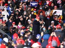 Tổng thống Trump tuyên bố kết quả thăm dò dư luận trước bầu cử là giả mạo