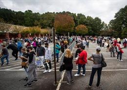 Không khí tại Mỹ trước bầu cử chính thức
