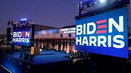 Ông Joe Biden phát biểu mừng chiến thắng trong cuộc bầu cử tổng thống Mỹ 2020