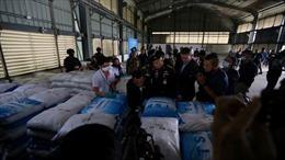 Thái Lan phát hiện hơn 400 bao tải ma túy