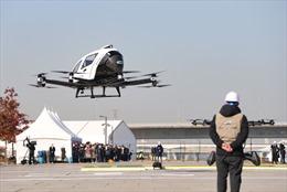 Drone taxi bay chuyến đầu tiên ở Hàn Quốc