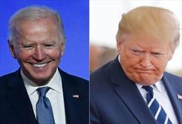 Tỉ lệ tín nhiệm ông Biden cao hơn Tổng thống Trump sau bầu cử