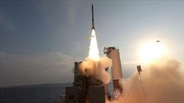 Video Israel thử nghiệm hệ thống phòng thủ tên lửa trên biển đầu tiên