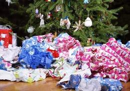 Xử lý rác thải sau lễ Giáng sinh
